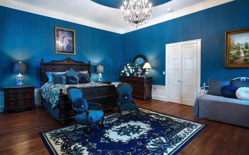 A beautiful guest room at our luxury Bed and Breakfast in Nashville